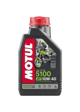 HUILE MOTEUR 4T MOTUL 5100 1L