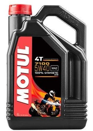 HUILE MOTEUR 4T MOTUL 7100...